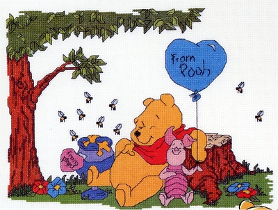 Winnie the Pooh - Love from Pooh  75 x 15 cm