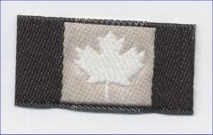 Flags - Canadese vlag  2 x 4 cm