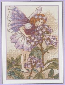 Flower Fairies - The Heliotrope Fairy  12,5 x 17,5 cm