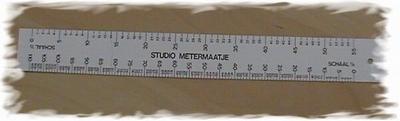 Studio metermaatje