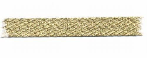 Bias-band - goud  1,5 cm