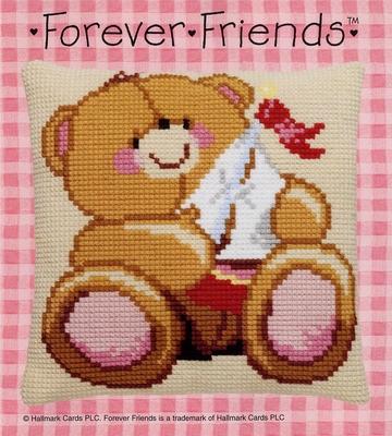 Kussenpakket - Forever Friends - met boot  40 x 40 cm