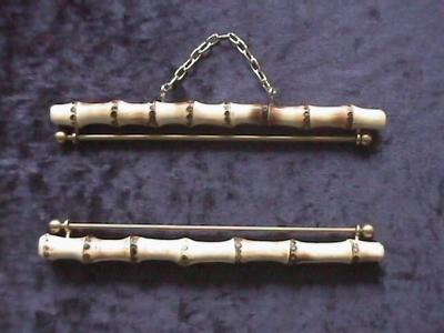 Schellenkoord-ornament bamboe