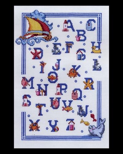Maritime - ABC  34 x 46 cm