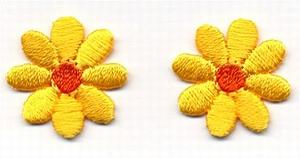 Lief - bloem geel-oranje