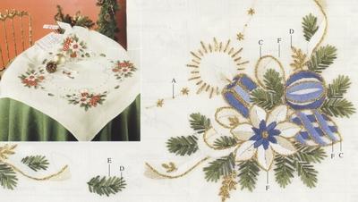 Tafelkleedje  80 x 80 cm