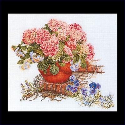 Hortensia  45 x 50 cm