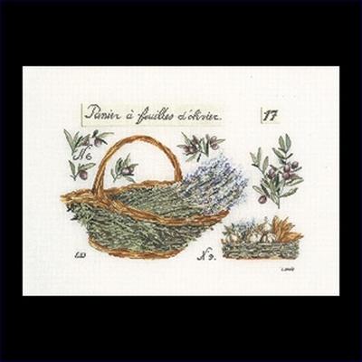 Lavendelmandje  40 x 29 cm