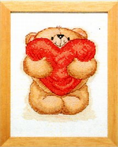 Forever Friends - met hart  13 x 17 cm