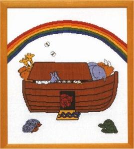 Ark van Noach  39 x 44 cm