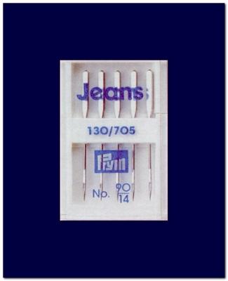 Naaimachine-naalden Prym Jeans  130/705