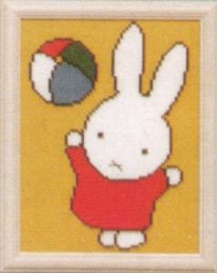 Nijntje - met bal  16 x 21 cm