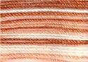 Coton Crochet-multicolor - bruin/zalm/wit