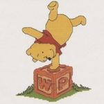 Winnie the Pooh - Poohs spelling block 16,5 x 11 cm