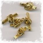 Corsage - roos klein goud