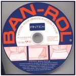 Antex Banrol, ceintuurband - wit - opplakbaar
