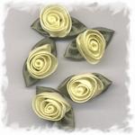 Corsage - roos groot geel