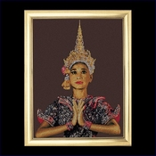 Thai lady 60 x 80 cm