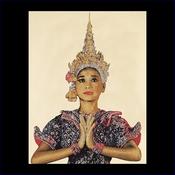Thai lady 35 x 45 cm