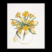 Tulpen - narcissen 38 x 47 cm