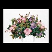 Bouquet pioenen 30 x 40 cm