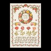 Rozenmerklap 53 x 76 cm