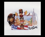 Verenigde Staten 39 x 37 cm