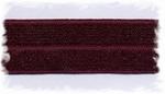 Elastisch biasband - bordeaux-rood 2 cm