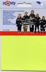Pronty - reparatiedoek - fluoriserend geel 10 x 20 cm