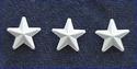 Stoer - sterren wit - 5 stuks