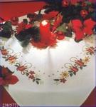 Tafelkleedje - damast 80 x 80 cm