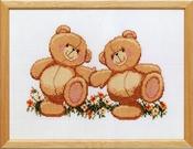 Forever Friends - 2 beren 29 x 22 cm