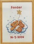 Forever Friends - geboorte tegel 29 x 22 cm