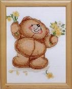 Forever Friends - met gele bloemen 13 x 17 cm