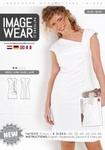 IW1005 - Prachtig geplooide jurk met unieke halslijn