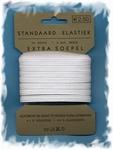 Elastiek - extra soepel - wit 6 mm