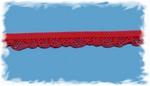 Elastisch kantje - rood 1,25 cm