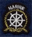 Maritiem - Marine 4,5 x 4 cm