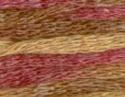 Lacet space - oud-rose/licht bruin/bruin