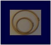 Borduurring - hout 15 cm