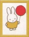 Nijntje - met ballon 13 x 17 cm