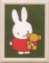 Nijntje - met beer 16 x 21 cm
