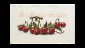 Fruit en groente - Kersen 29 x 20 cm