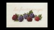 Fruit en groente - Bramen 29 x 20 cm
