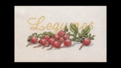 Fruit en groente - Radijs 29 x 20 cm